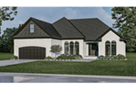Ranch House Plan Front of Home - 055D-0902 | House Plans and More