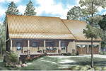 Ranch House Plan Front of Home - 055D-0903 | House Plans and More