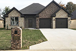 European House Plan Front of Home - 055D-0905 | House Plans and More