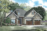 Arts and Crafts House Plan Front of Home - 055D-0906 | House Plans and More