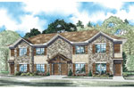 Craftsman House Plan Front of Home - 055D-0908 | House Plans and More