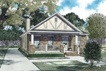 Traditional House Plan Front of Home - 055D-0911 | House Plans and More