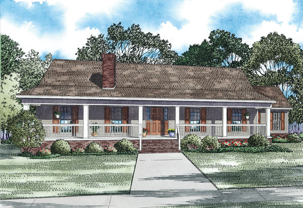 Gasthoff acadian country home plan 055d 0913 house plans for Acadian house plans with front porch