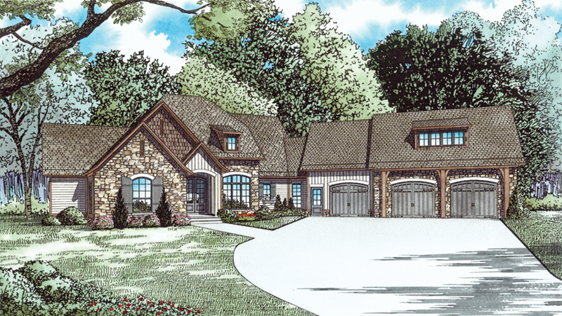Dellwood Drive European Home Plan 055d 0937 House Plans And More