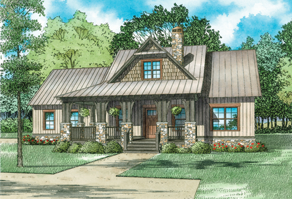 weekend retreat craftsman home plan 055d 0939 house