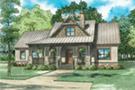 Cabin & Cottage House Plan Front of Home - 055D-0939 | House Plans and More