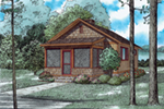 Shingle House Plan Front of Home - 055D-0942 | House Plans and More