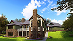 Southern House Plan Rear Photo 01 - 055D-0977 | House Plans and More