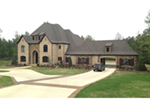 Country French House Plan Front of Home - 055D-0982 | House Plans and More