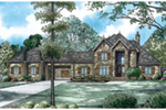 Traditional House Plan Front of Home - 055D-0993 | House Plans and More
