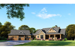 Country House Plan Front of Home - 055D-1044 | House Plans and More