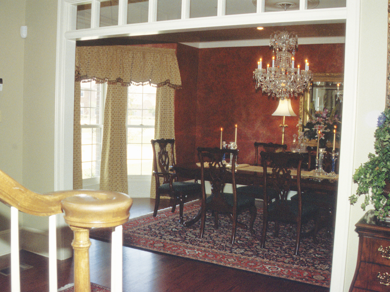 Traditional House Plan Dining Room Photo 02 055S-0002