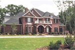 Luxury House Plan Front Photo 01 - 055S-0002 | House Plans and More