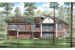 Country House Plan Color Image of House - 055S-0008 | House Plans and More