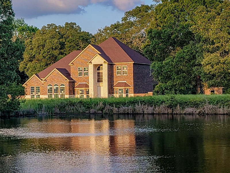 Colonial Floor Plan Front of Home 055S-0016