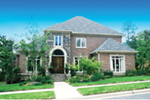 European House Plan Front of Home - 055S-0022 | House Plans and More