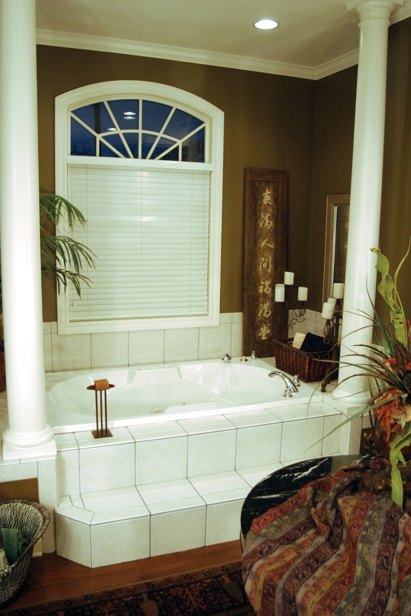 Country French House Plan Bathroom Photo 02 - 055S-0027 | House Plans and More
