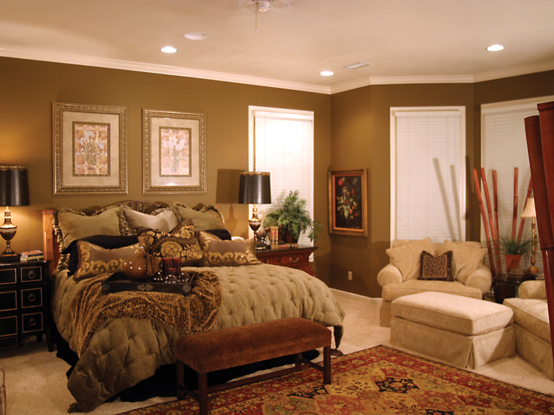 Country House Plan Bedroom Photo 01 055S-0027