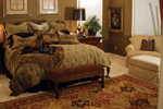Country French Home Plan Bedroom Photo 02 - 055S-0027 | House Plans and More