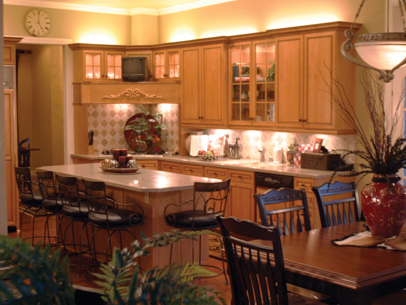 Traditional House Plan Kitchen Photo 02 055S-0027