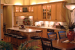 Country French Home Plan Kitchen Photo 02 - 055S-0027 | House Plans and More
