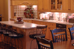 Country French House Plan Kitchen Photo 03 - 055S-0027 | House Plans and More