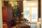 Country French Home Plan Living Room Photo 02 - 055S-0027 | House Plans and More