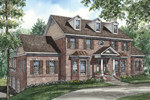 Luxury Two-Story Has Georgian Style Influences