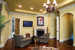 Traditional House Plan Family Room Photo 01 - 055S-0036 | House Plans and More