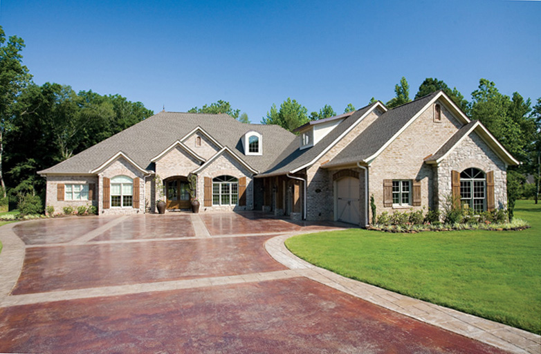 Glenvalley Luxury Home Plan 055S0036 – Traditional House Plans One Story