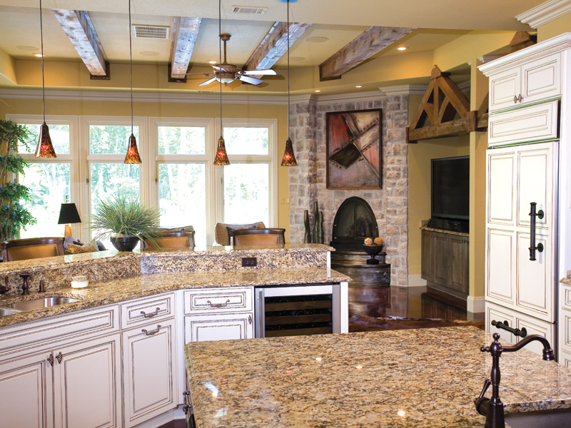Ranch House Plan Kitchen Photo 01 055S-0036