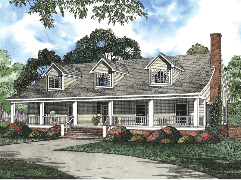 Nantucket Cliff Cape Cod Home Plan 055s 0042 House Plans