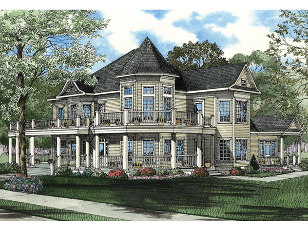 Cairns luxury victorian home plan 055s 0044 house plans and more Luxury victorian house plans