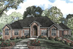 Ranch House Plan Front Image - 055S-0046 | House Plans and More
