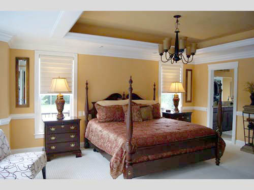 Contemporary House Plan Bedroom Photo 01 - 055S-0054 | House Plans and More