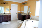 Contemporary House Plan Master Bathroom Photo 01 - 055S-0054 | House Plans and More