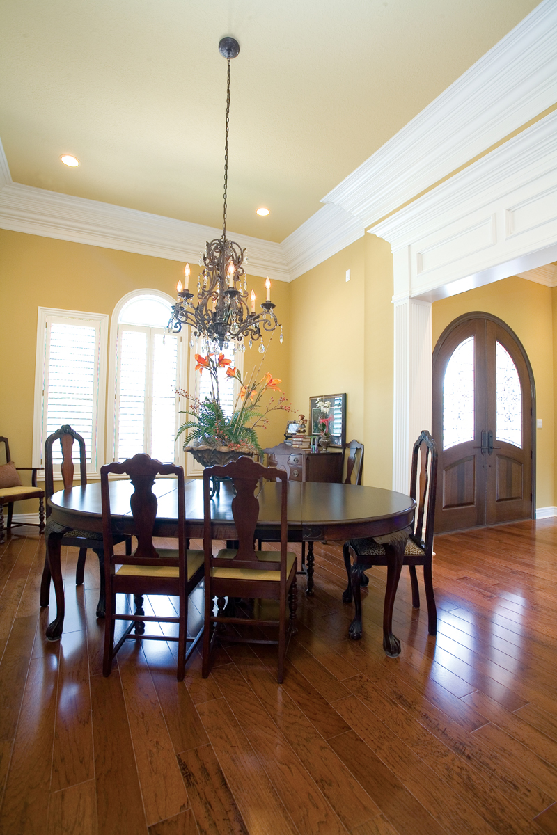 Luxury House Plan Dining Room Photo 01 055S-0075