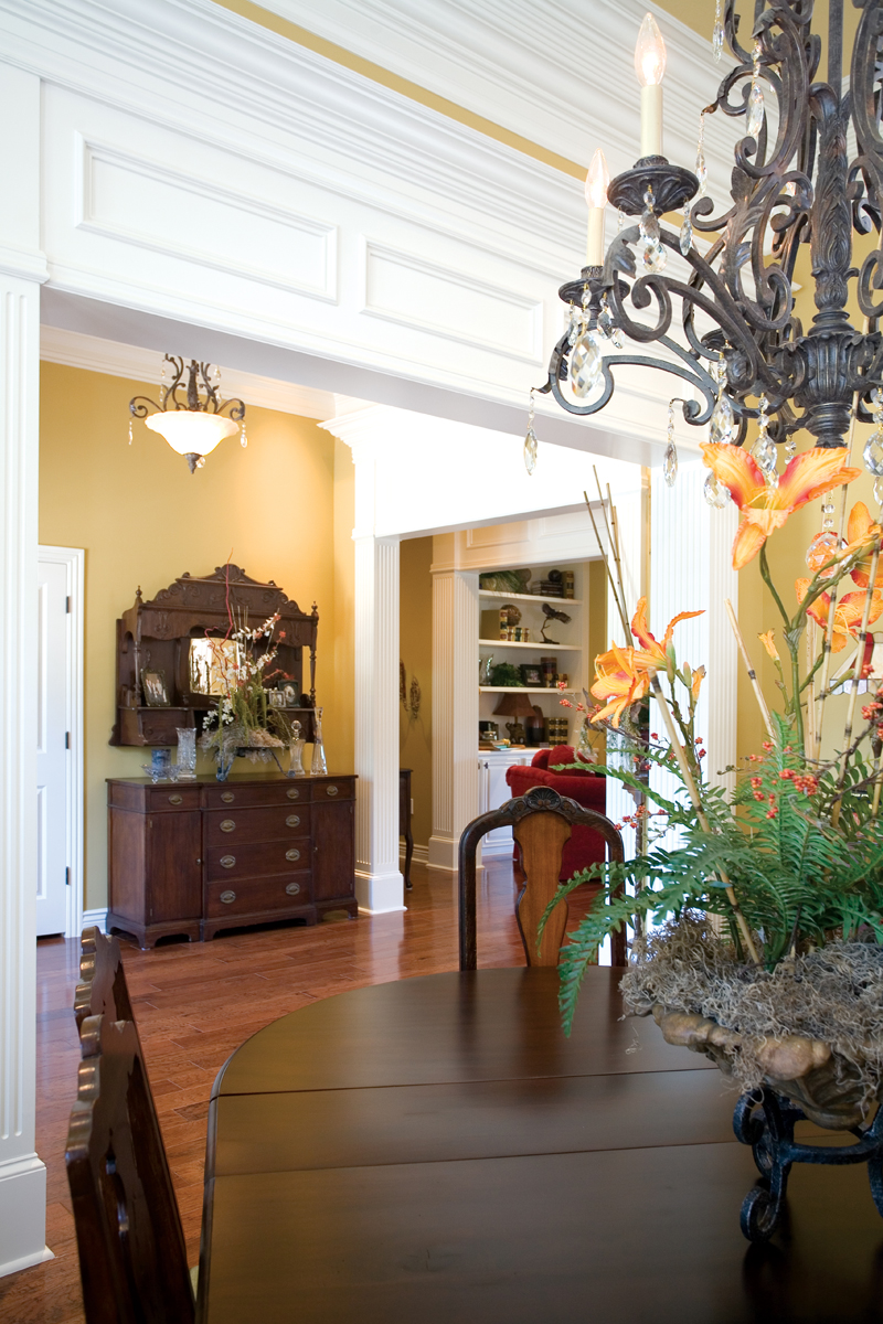 Traditional House Plan Dining Room Photo 02 055S-0075