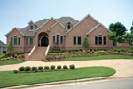 Luxury Traditional All Brick House Great For Sloping Lot