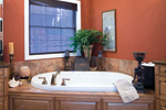Ranch House Plan Master Bathroom Photo 01 - 055S-0075 | House Plans and More