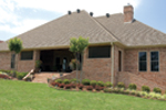 Ranch House Plan Rear Photo 01 - 055S-0075 | House Plans and More