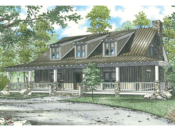 Kennedy Creek Rustic Luxury Home Plan 055s 0080 House