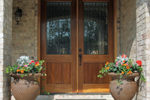 European House Plan Door Detail Photo - 055S-0087 | House Plans and More