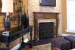 European House Plan Fireplace Photo 01 - 055S-0087 | House Plans and More