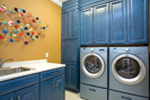 European House Plan Laundry Room Photo - 055S-0087 | House Plans and More