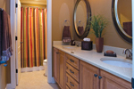 European House Plan Master Bathroom Photo 01 - 055S-0087 | House Plans and More