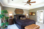 European House Plan Master Bedroom Photo 01 - 055S-0087 | House Plans and More