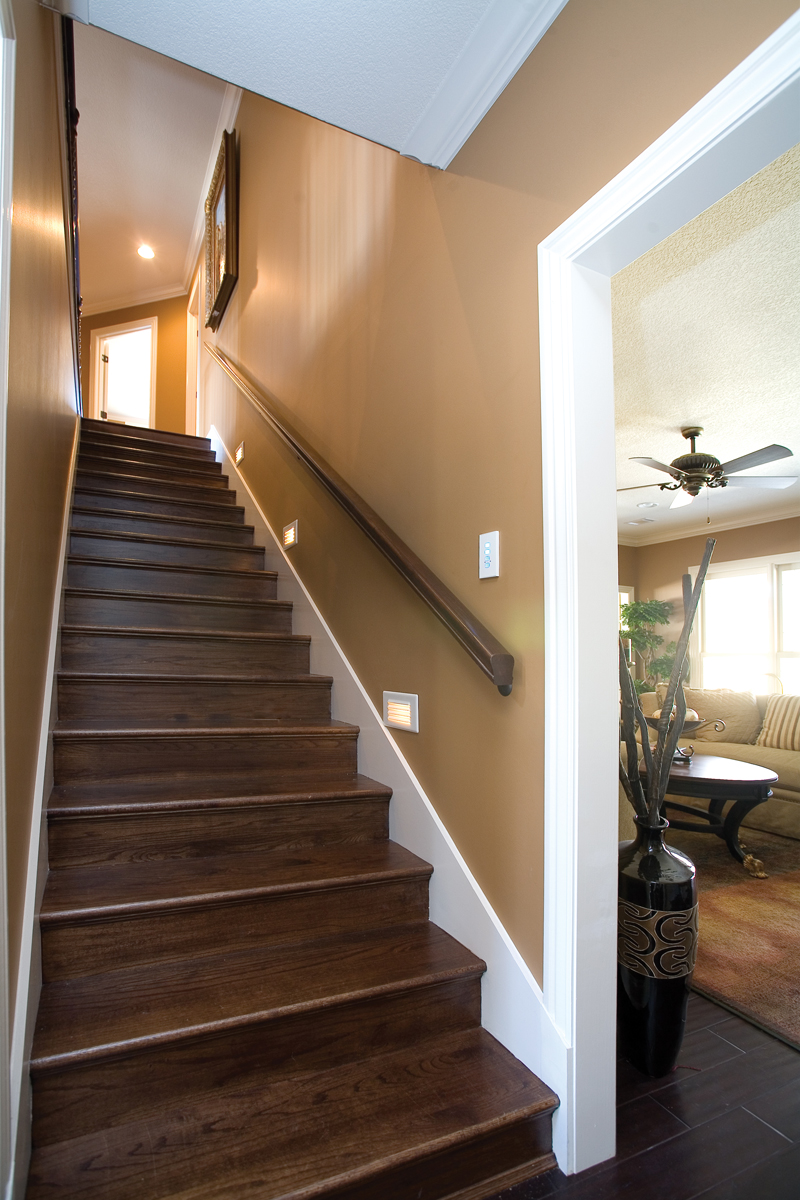 European House Plan Stairs Photo - 055S-0087 | House Plans and More
