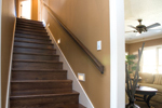 Contemporary House Plan Stairs Photo - 055S-0087 | House Plans and More