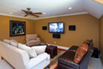 European House Plan Theater Room Photo 01 - 055S-0087 | House Plans and More